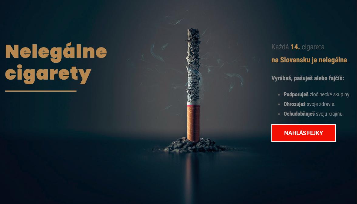 Až každá štrnásta cigareta na Slovensku je nelegálna. Na východnom dokonca každá tretia.